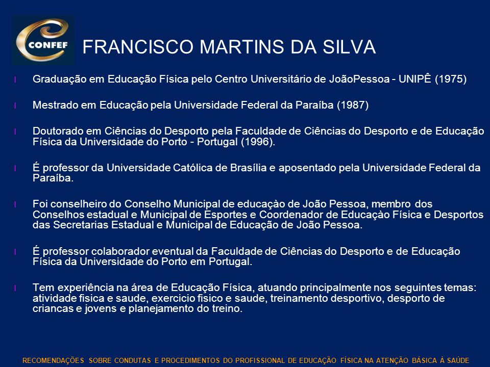 FRANCISCO MARTINS DA SILVA