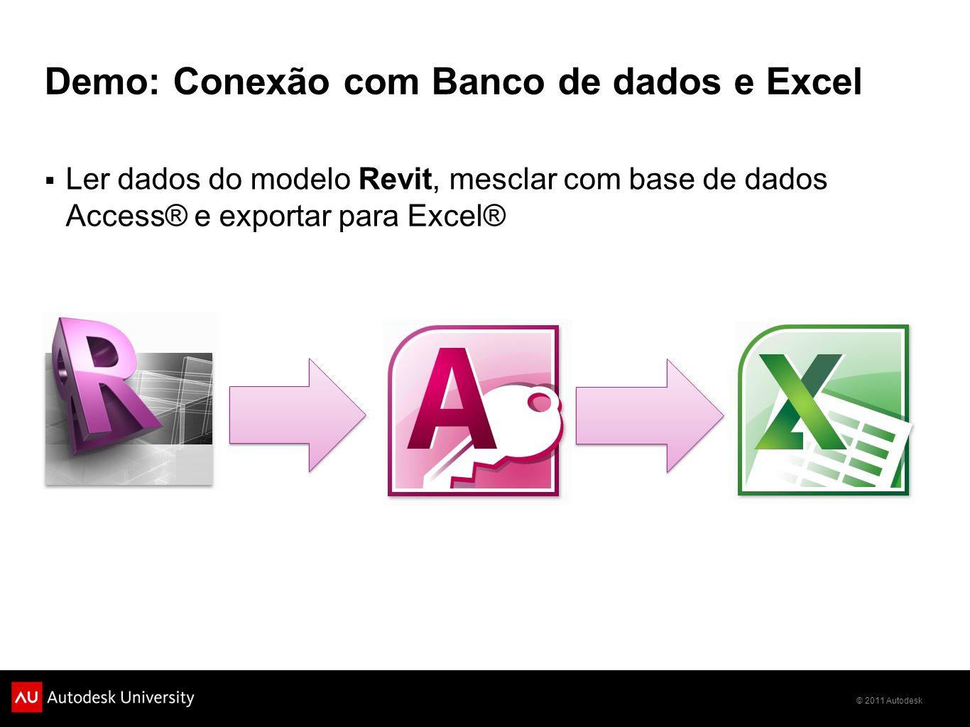 Demo: Conexão com Banco de dados e Excel