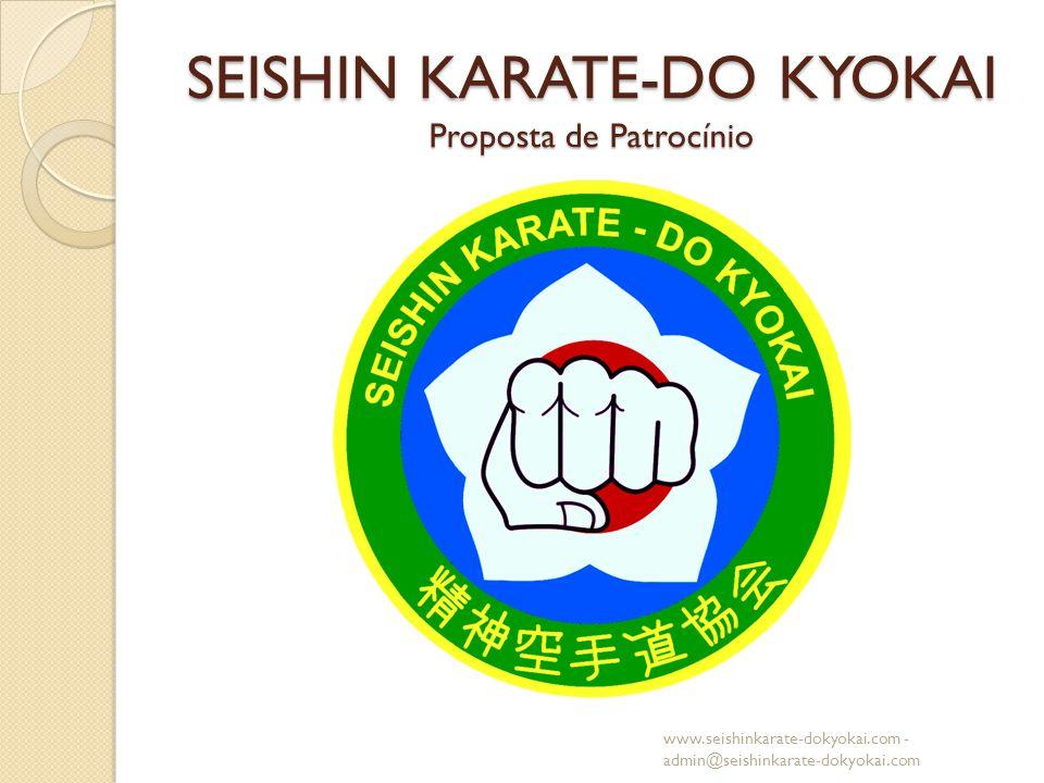 SEISHIN KARATE-DO KYOKAI Proposta de Patrocínio