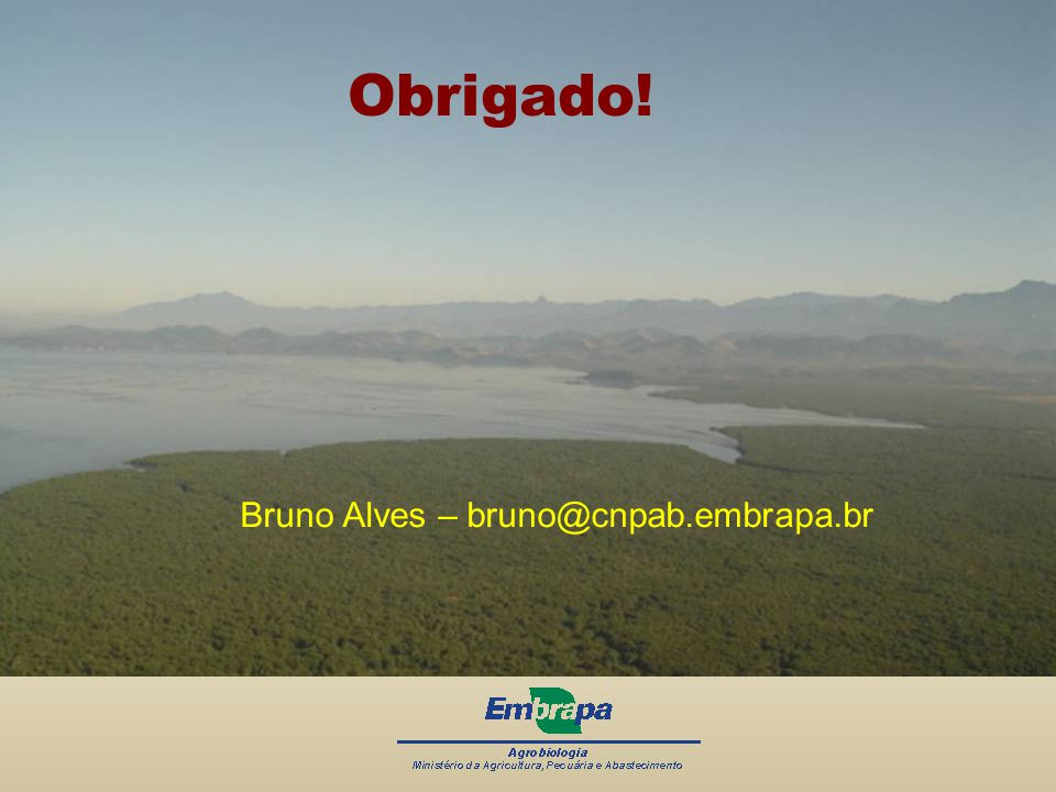 Bruno Alves – bruno@cnpab.embrapa.br