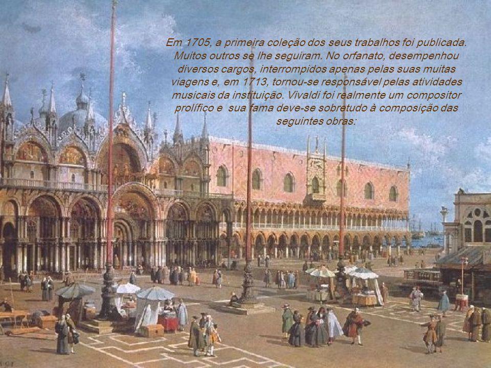 Em 1705, a primeira coleção dos seus trabalhos foi publicada