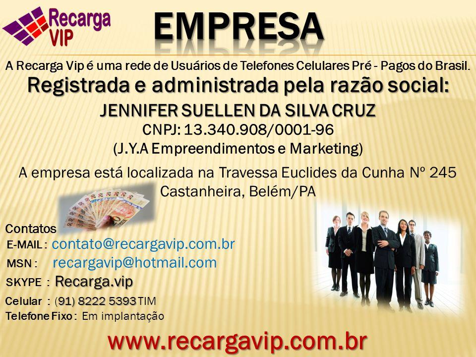 Empresa www.recargavip.com.br
