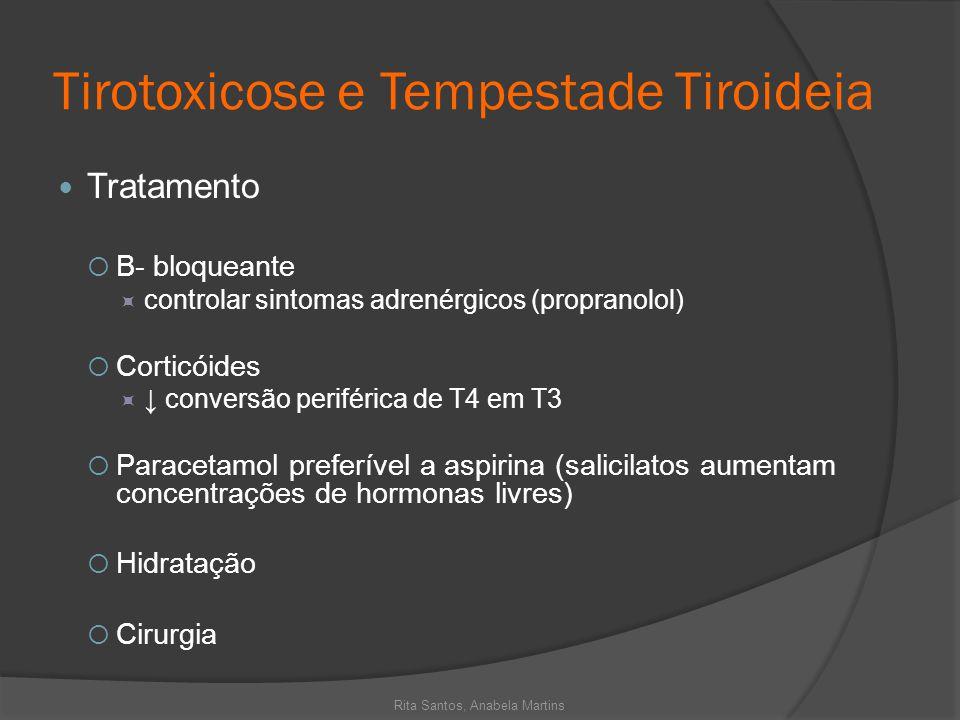 Tirotoxicose e Tempestade Tiroideia