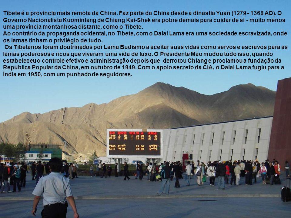 Tibete é a província mais remota da China