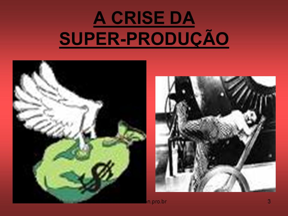 A CRISE DA SUPER-PRODUÇÃO