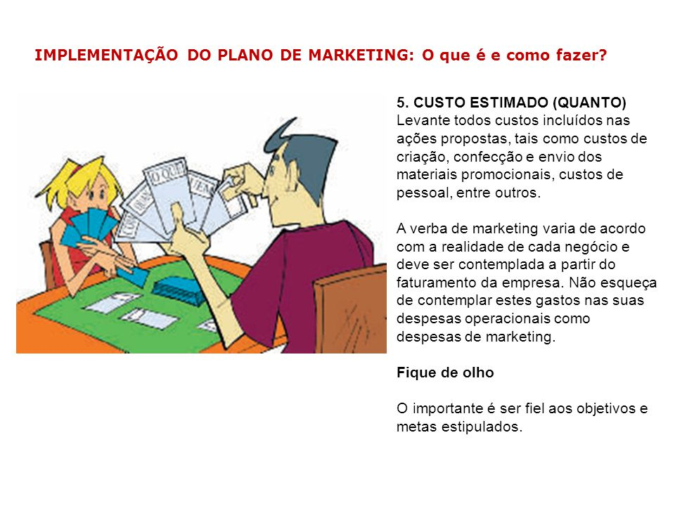 IMPLEMENTAÇÃO DO PLANO DE MARKETING: O que é e como fazer