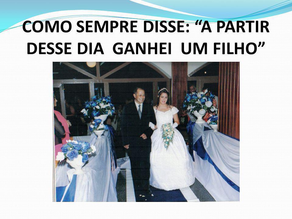 COMO SEMPRE DISSE: A PARTIR DESSE DIA GANHEI UM FILHO