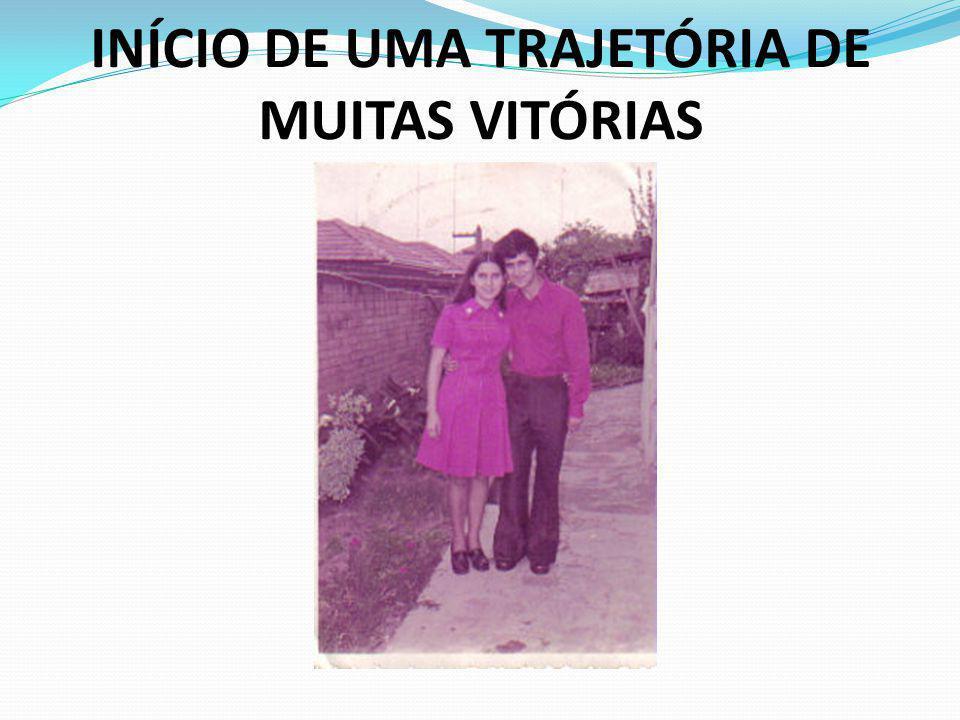 INÍCIO DE UMA TRAJETÓRIA DE MUITAS VITÓRIAS