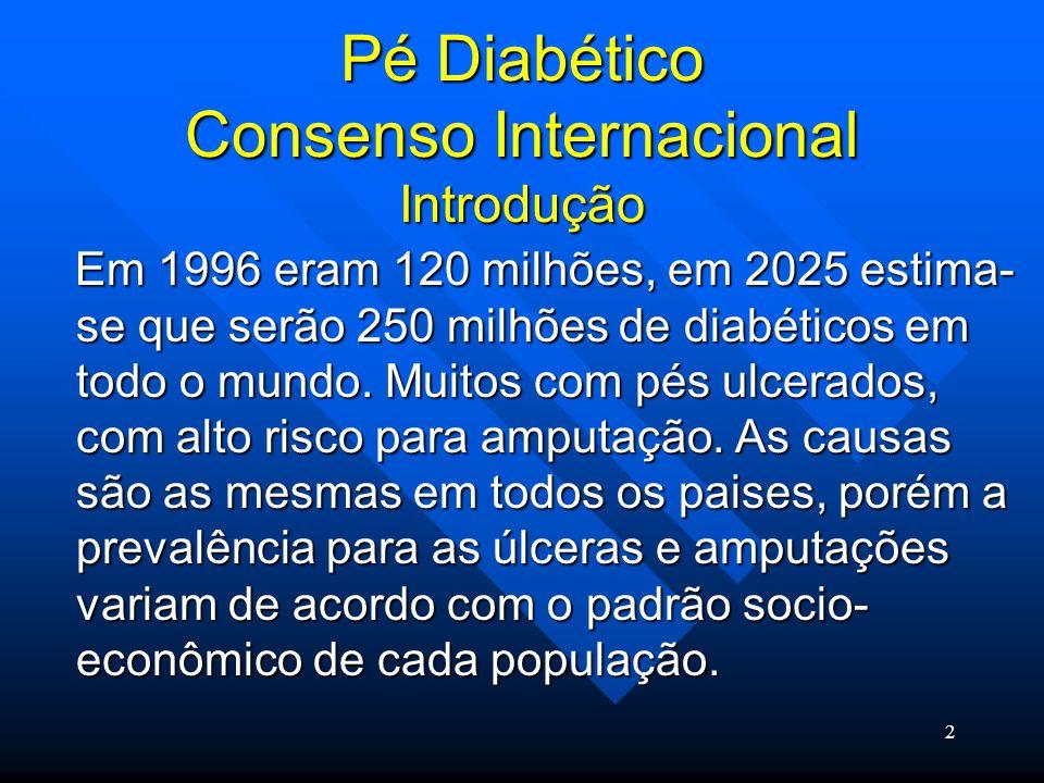 Pé Diabético Consenso Internacional Introdução