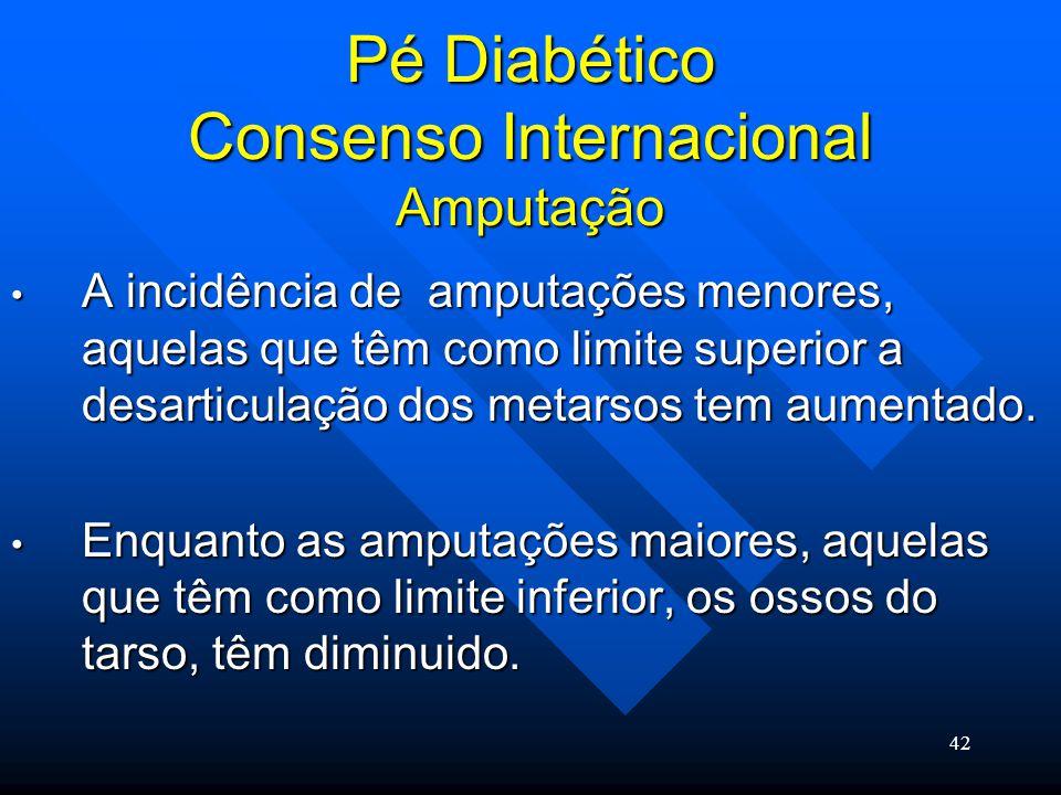 Pé Diabético Consenso Internacional Amputação