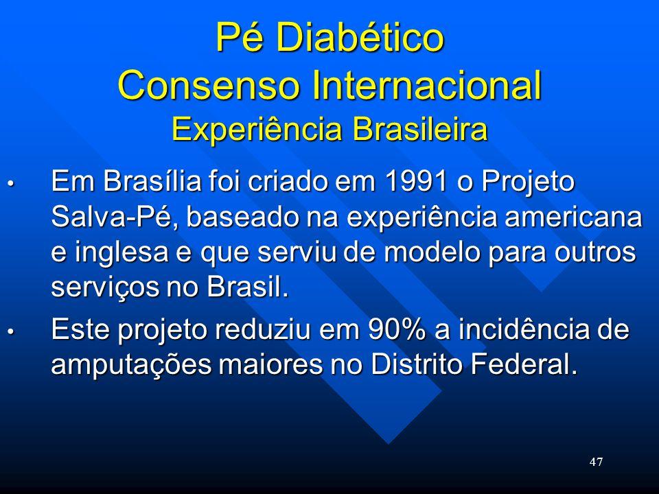 Pé Diabético Consenso Internacional Experiência Brasileira