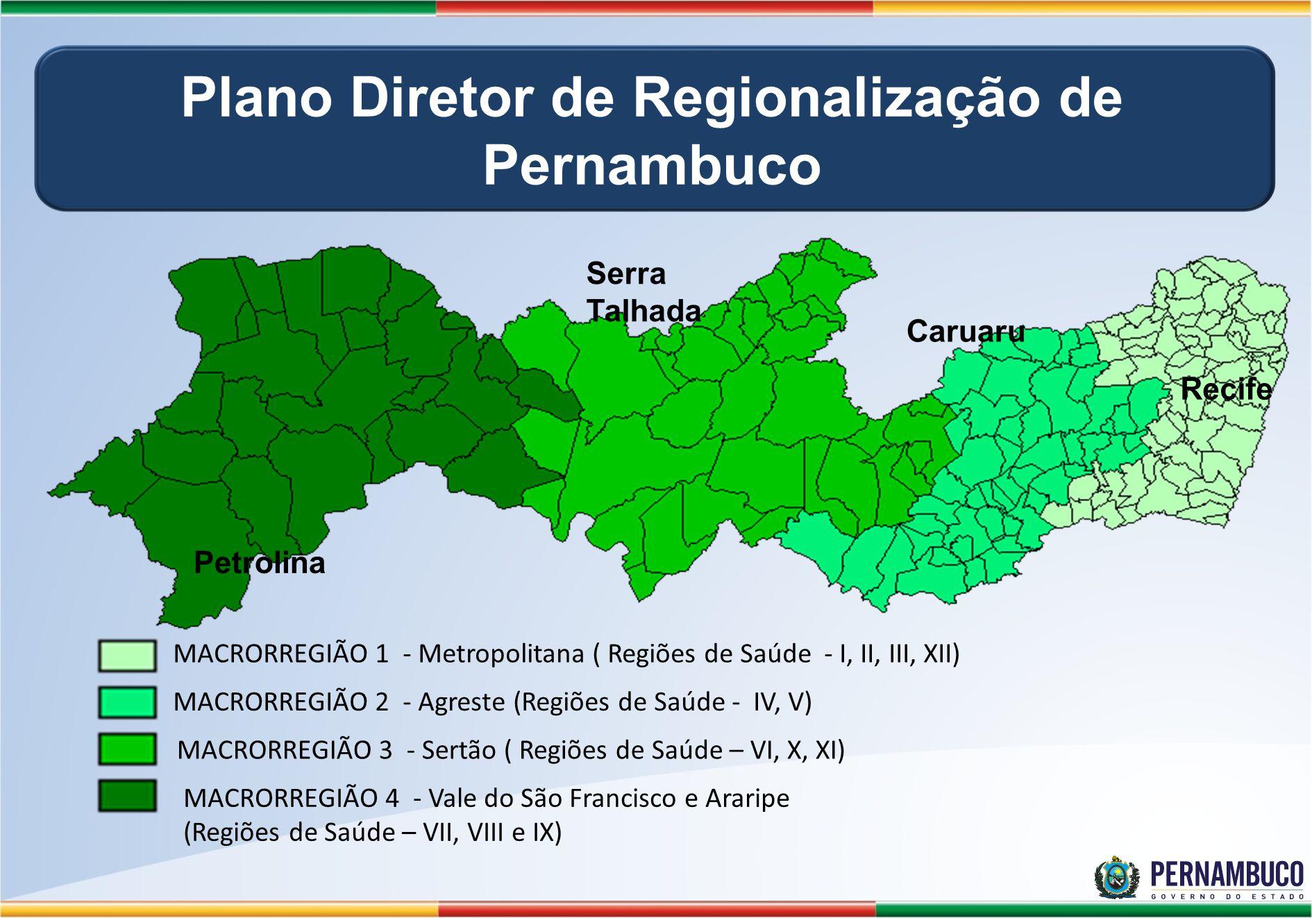 Plano Diretor de Regionalização de Pernambuco