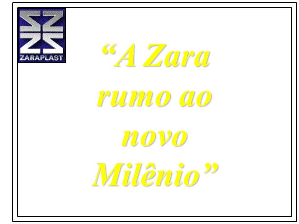 A Zara rumo ao novo Milênio