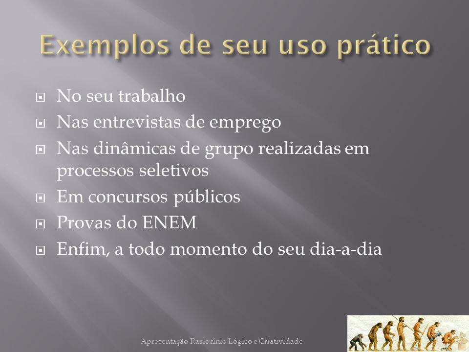 Exemplos de seu uso prático