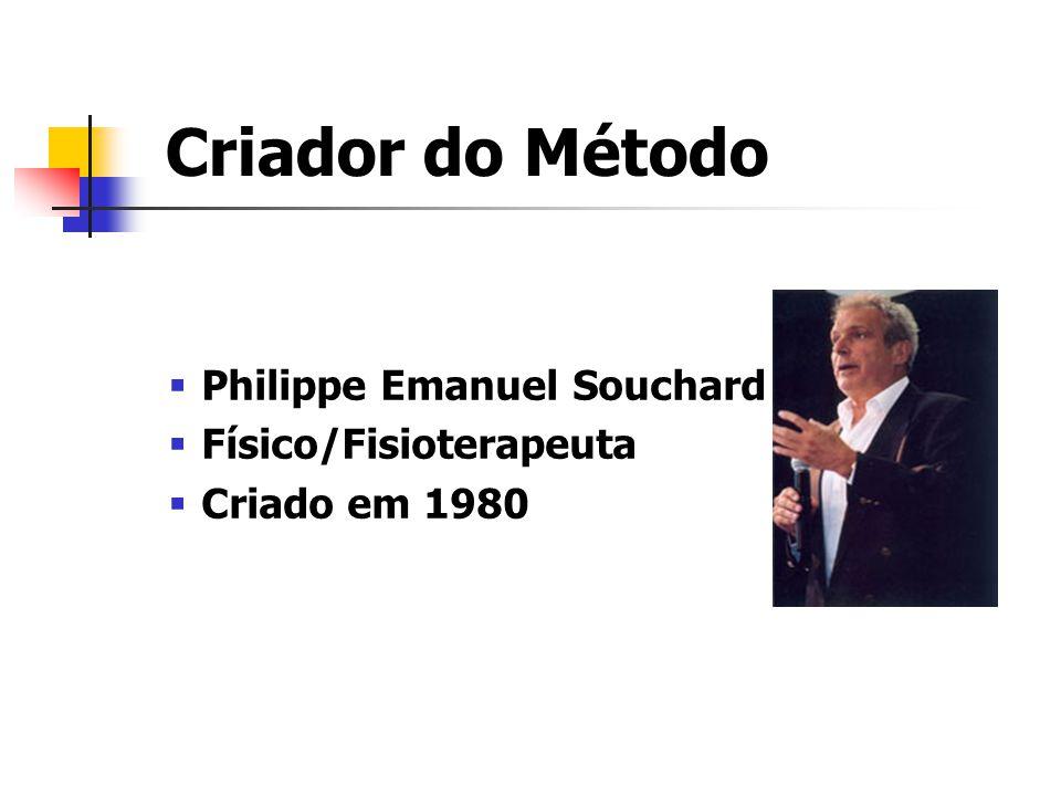 Criador do Método Philippe Emanuel Souchard Físico/Fisioterapeuta