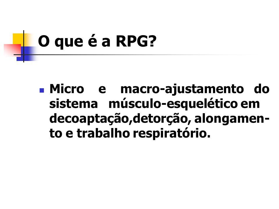 O que é a RPG.
