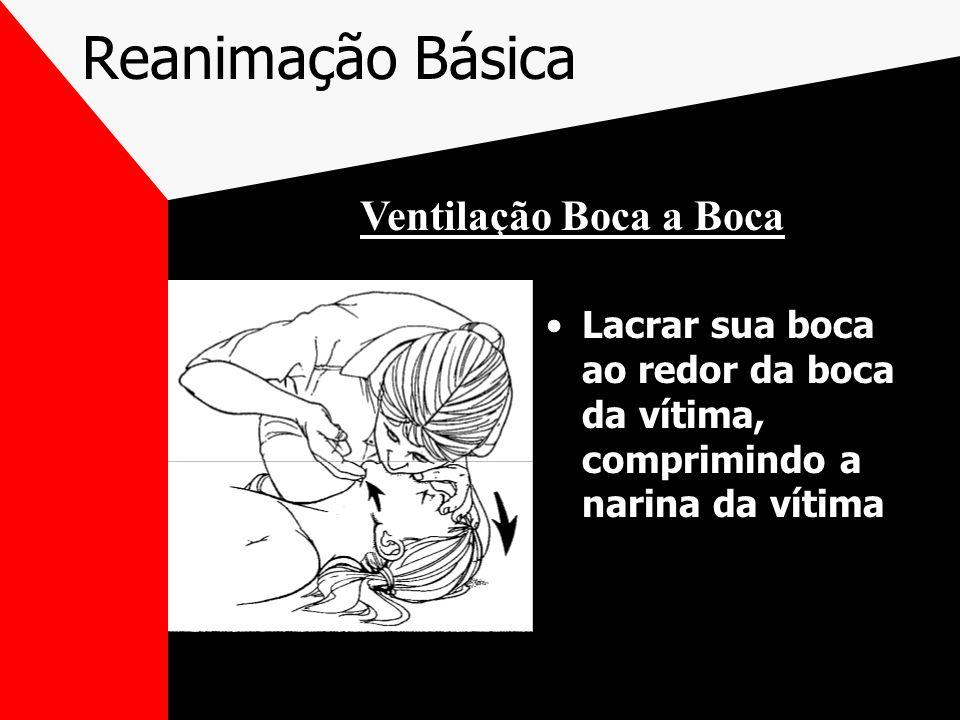 Reanimação Básica Ventilação Boca a Boca