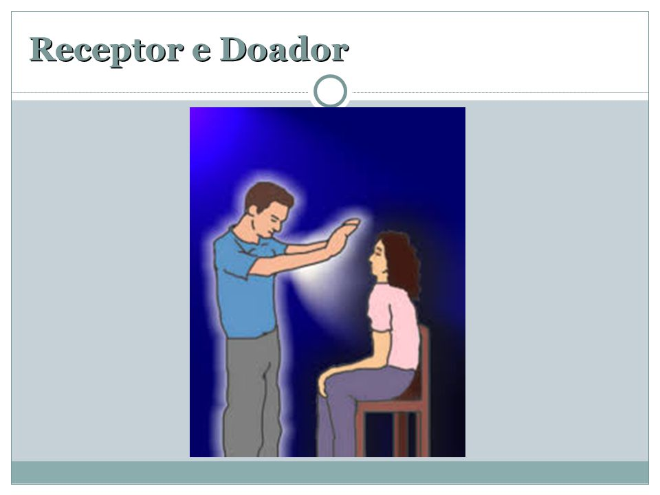 Receptor e Doador