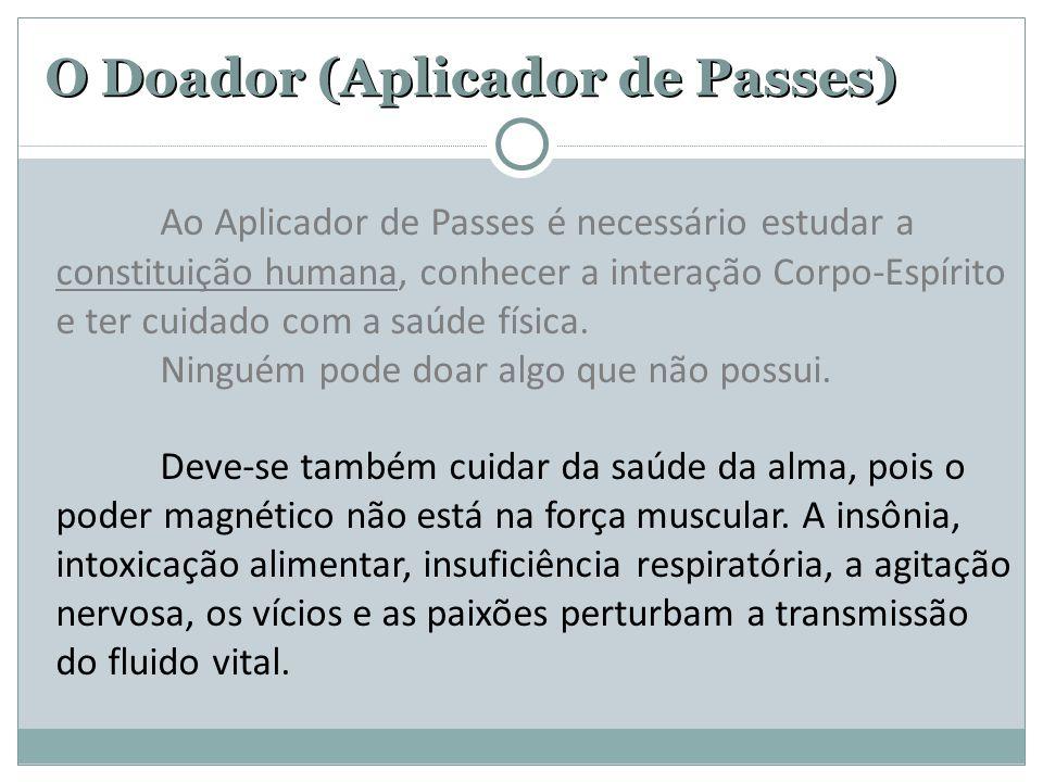 O Doador (Aplicador de Passes)