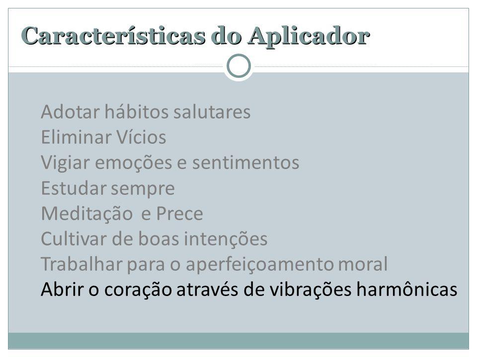 Características do Aplicador