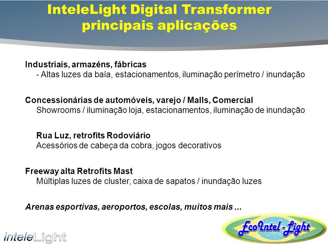 InteleLight Digital Transformer principais aplicações
