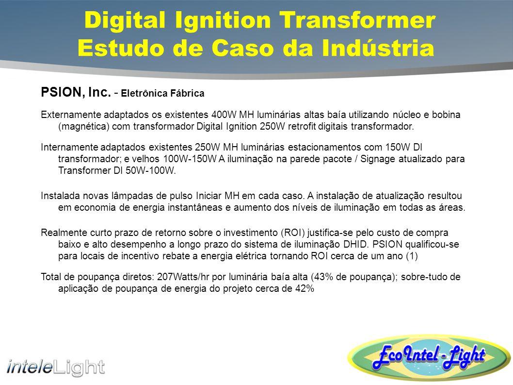 Digital Ignition Transformer Estudo de Caso da Indústria