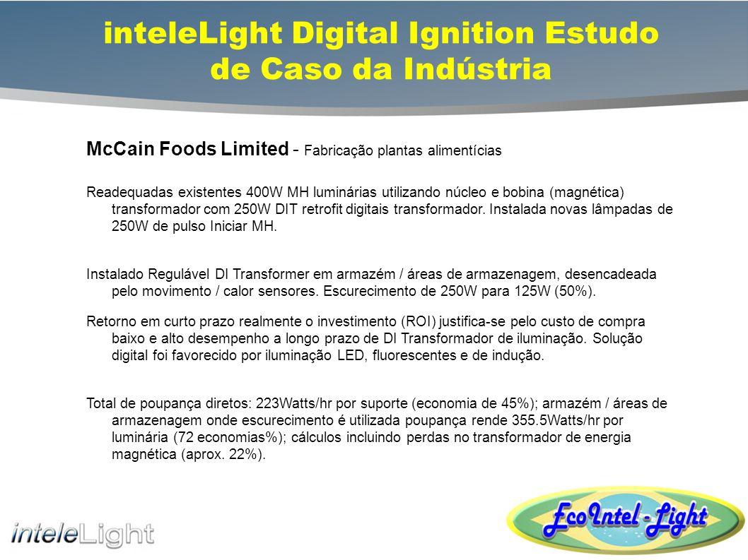 inteleLight Digital Ignition Estudo de Caso da Indústria