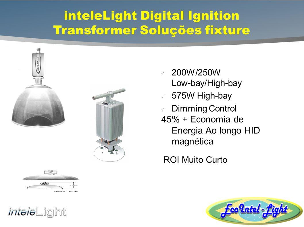 inteleLight Digital Ignition Transformer Soluções fixture