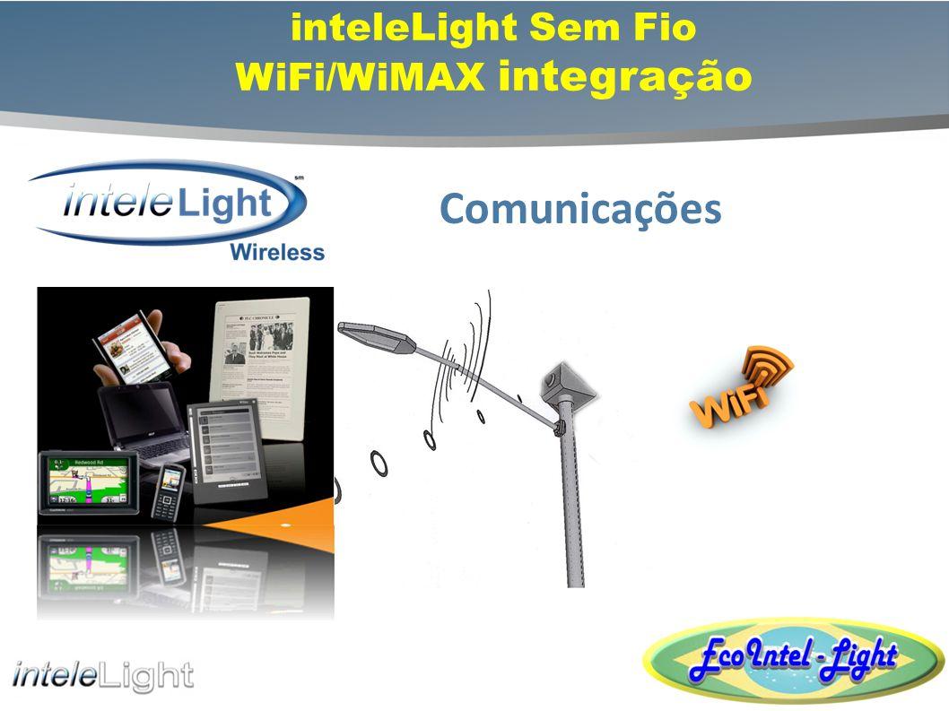 inteleLight Sem Fio WiFi/WiMAX integração
