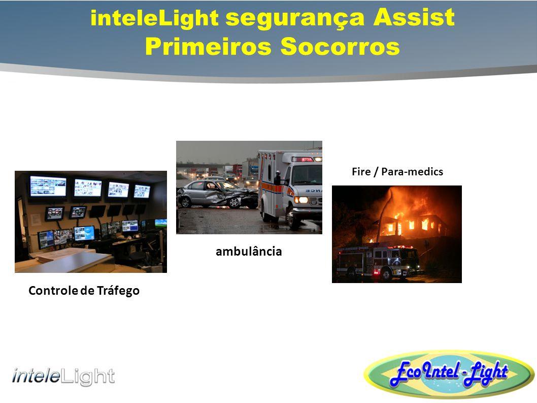 inteleLight segurança Assist Primeiros Socorros