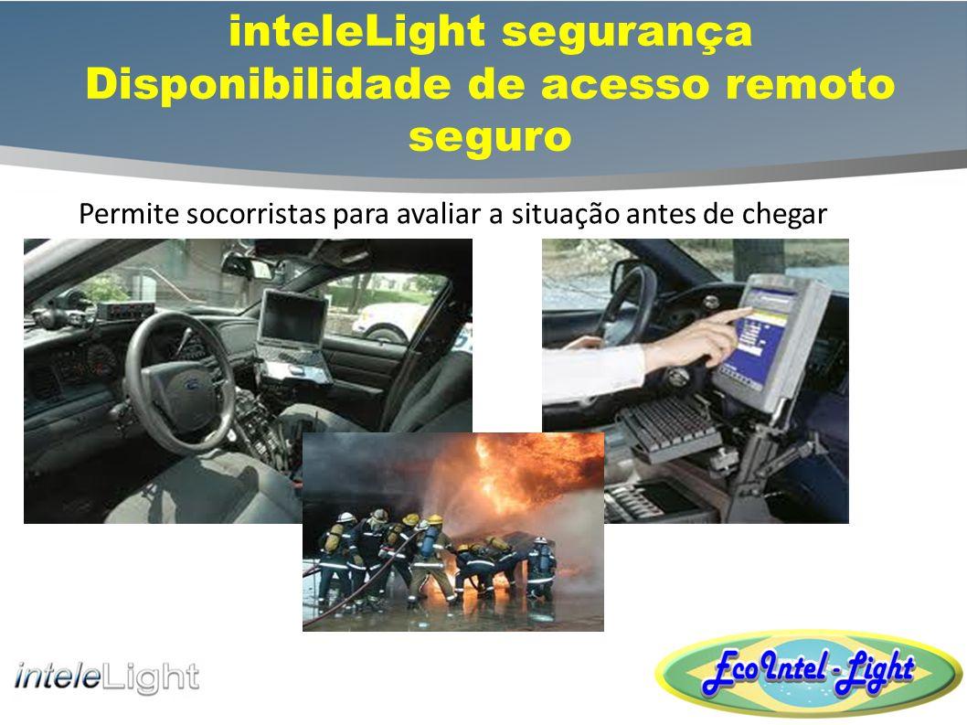 inteleLight segurança Disponibilidade de acesso remoto seguro