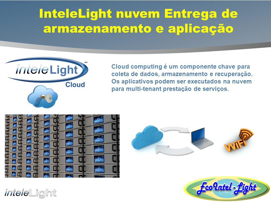InteleLight nuvem Entrega de armazenamento e aplicação