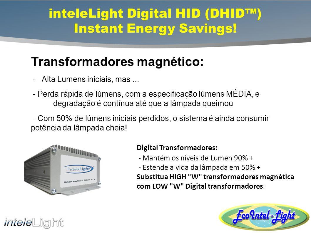 inteleLight Digital HID (DHID™) Instant Energy Savings!