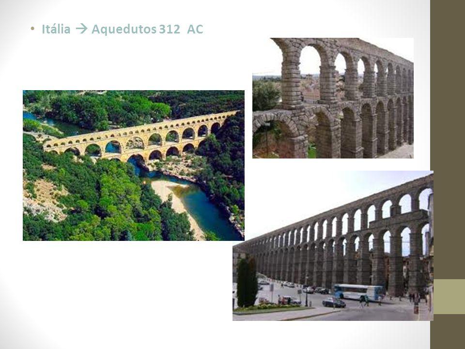 Itália  Aquedutos 312 AC