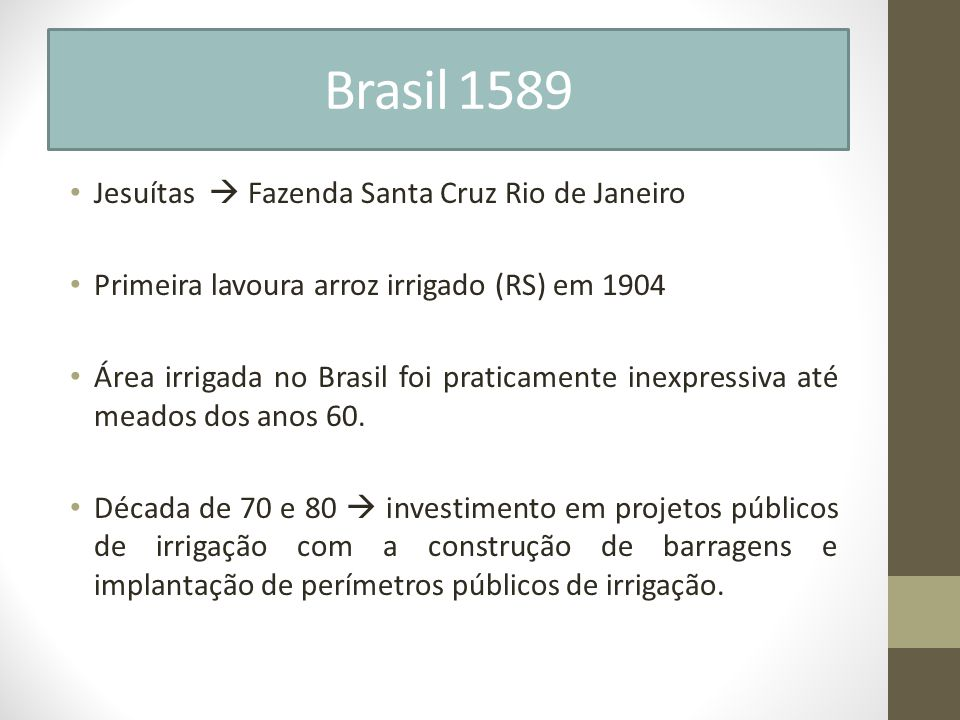 Brasil 1589 Jesuítas  Fazenda Santa Cruz Rio de Janeiro