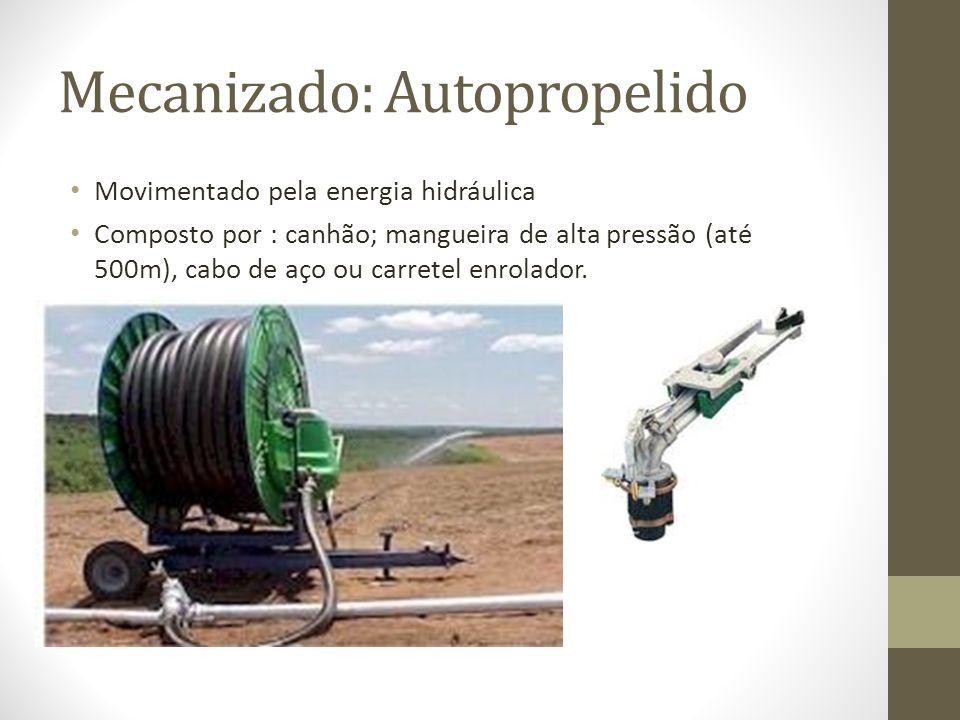 Mecanizado: Autopropelido