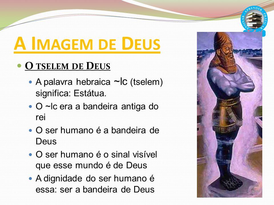 A Imagem de Deus O tselem de Deus