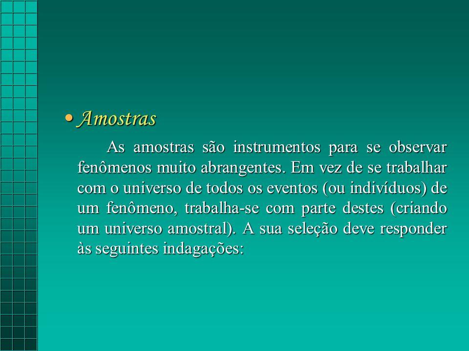 Amostras