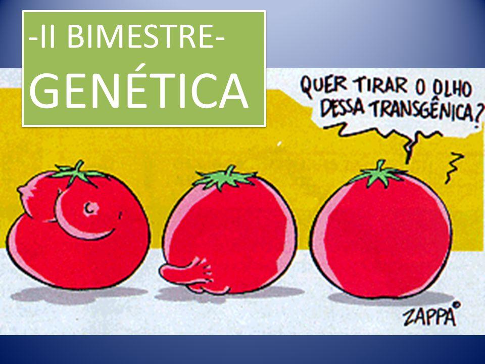 -II BIMESTRE- GENÉTICA