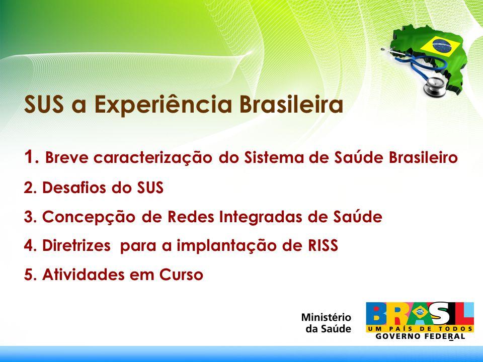 SUS a Experiência Brasileira