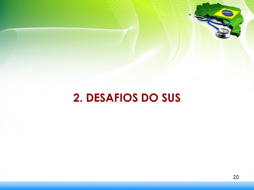 2. DESAFIOS DO SUS
