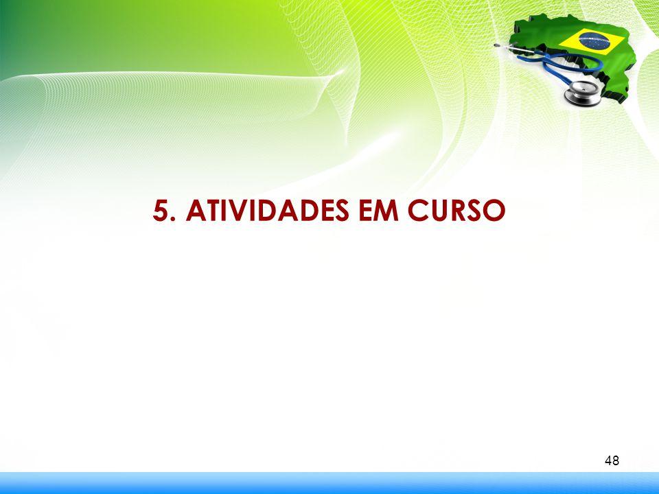 5. ATIVIDADES EM CURSO