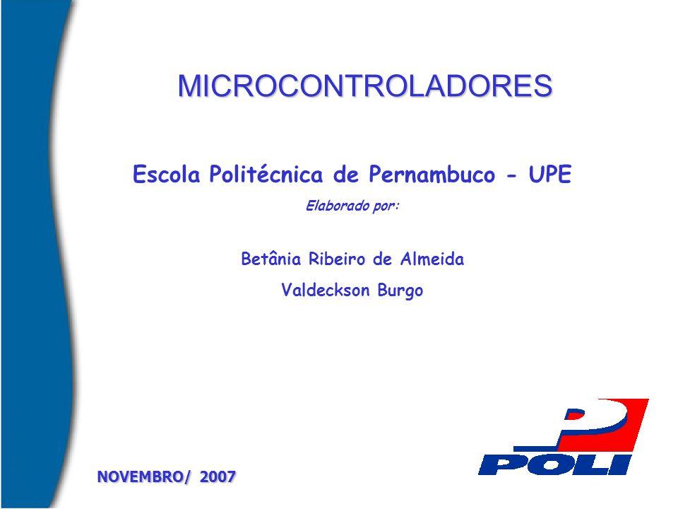 Escola Politécnica de Pernambuco - UPE Betânia Ribeiro de Almeida