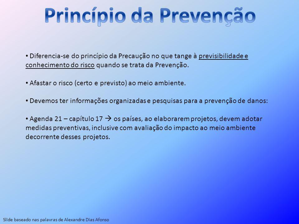Princípio da Prevenção