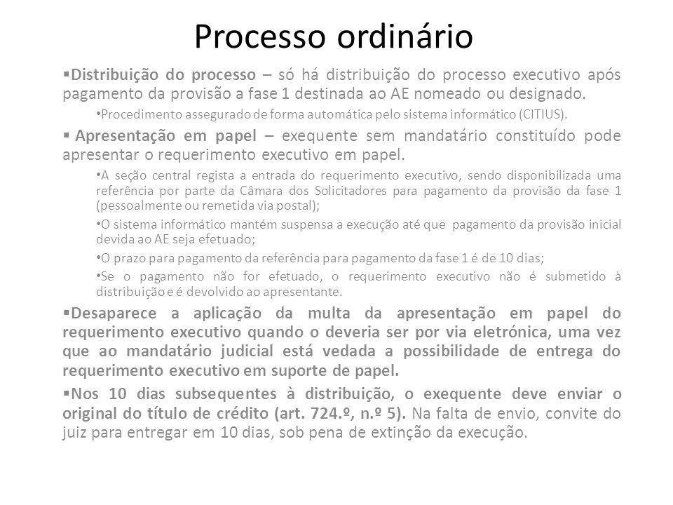 Processo ordinário