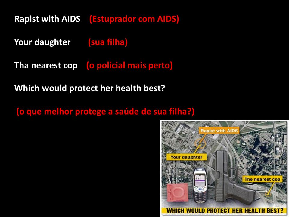 Rapist with AIDS (Estuprador com AIDS)