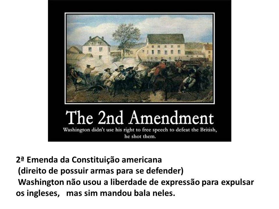 2ª Emenda da Constituição americana