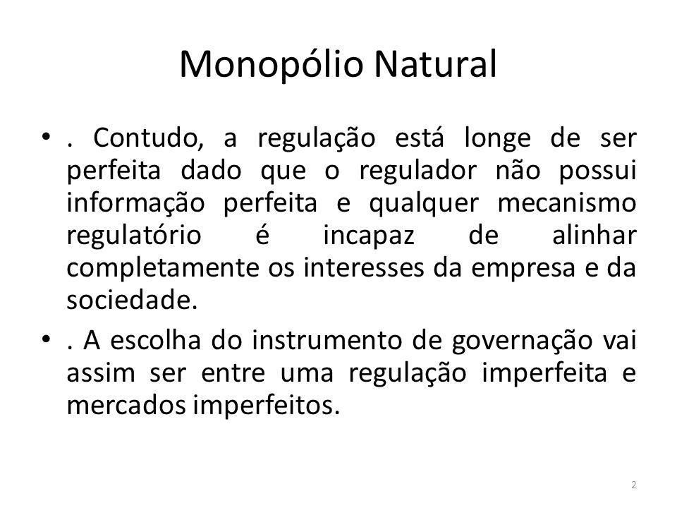 Monopólio Natural