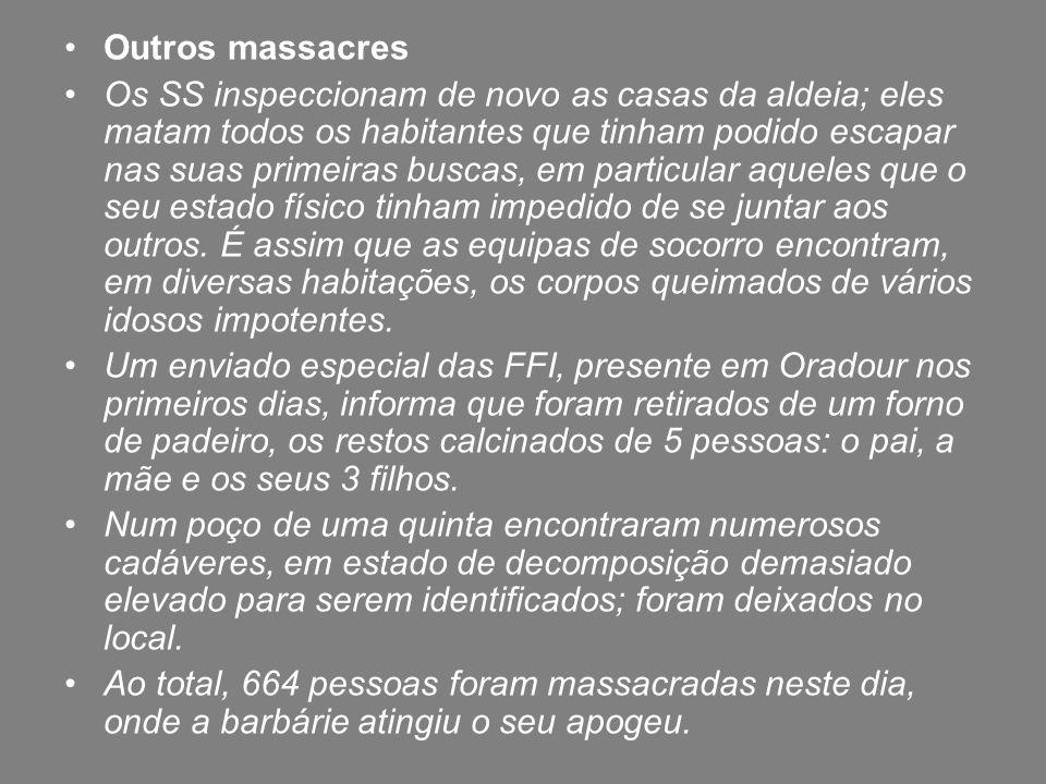 Outros massacres