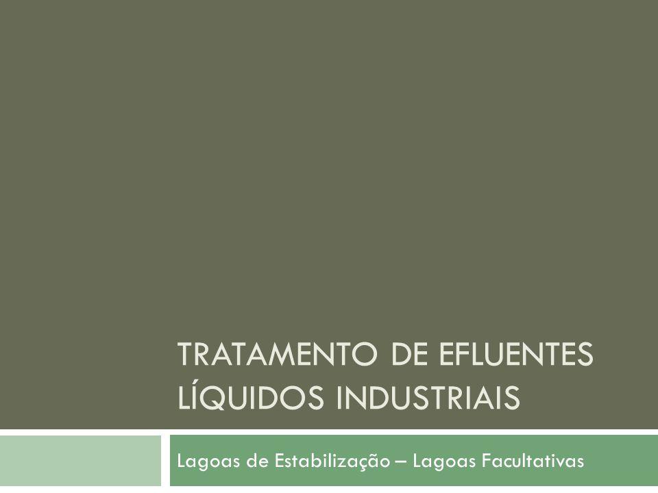 Tratamento de efluentes líquidos industriais